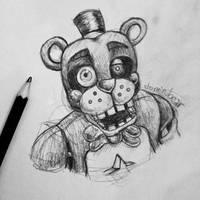 Lefty sketch by DominoBear