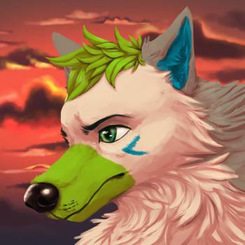 Aslan [Commission] by DominoBear