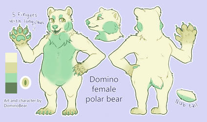 Domino 1.1 reference sheet by DominoBear
