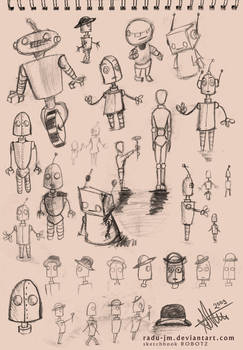 Sketchbook ROBOTZ