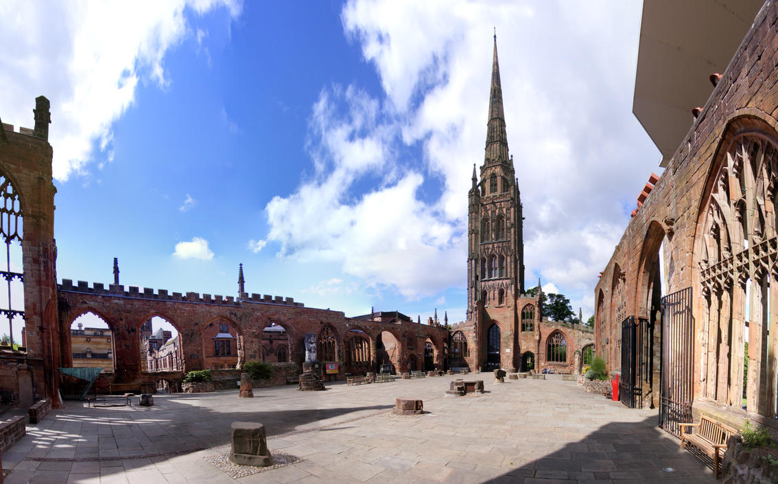 Coventry Cathedral Old By S Kmp On Deviantart