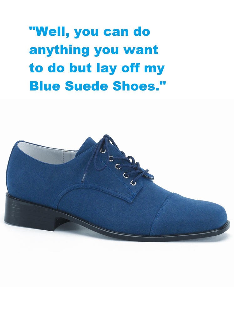Blue Suede Shoes Writer