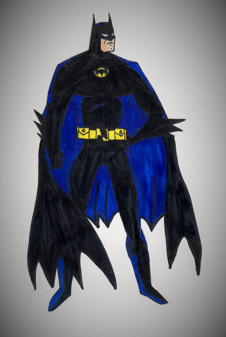 1989 Batman TAS style by ElvisPresleyFan3577