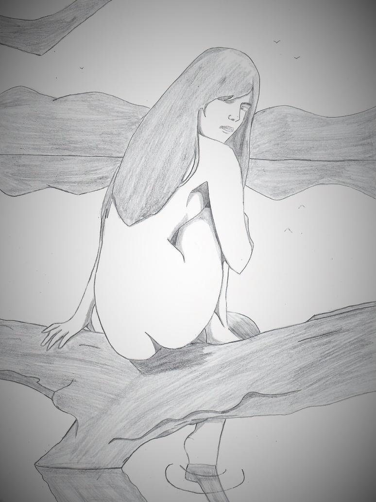 Woman by the Lake by ElvisPresleyFan3577