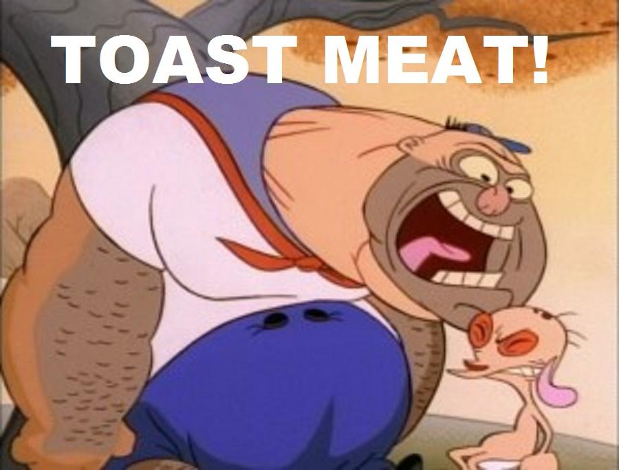 TOAST MEAT! by ElvisPresleyFan3577