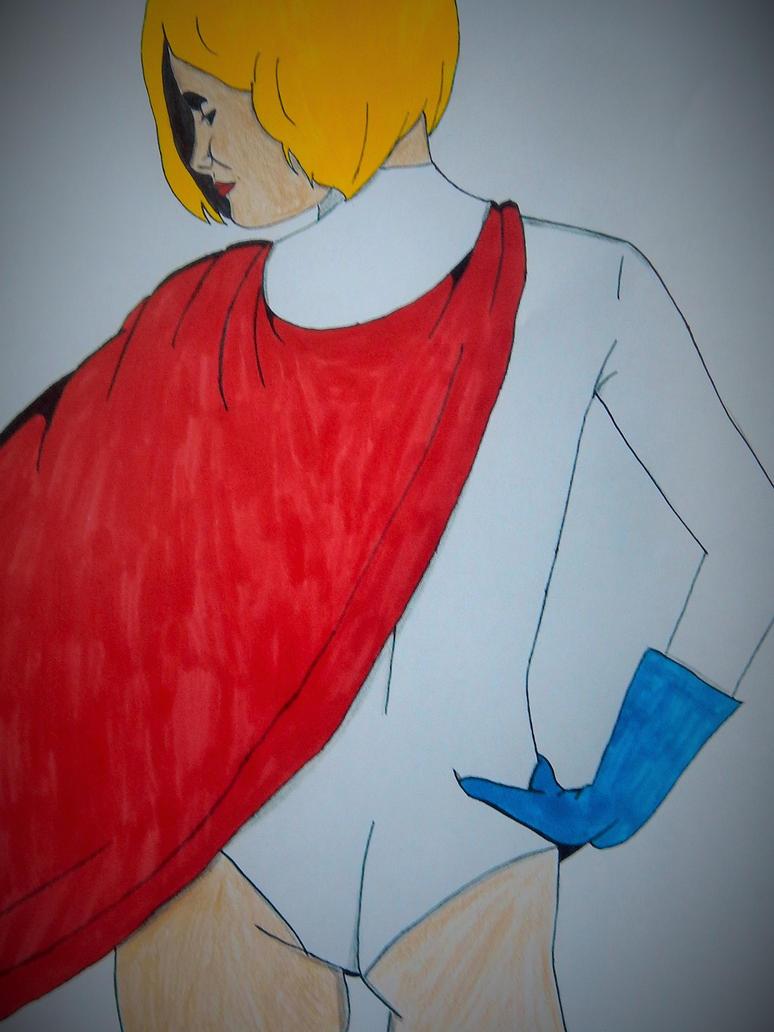 Power Girl by ElvisPresleyFan3577