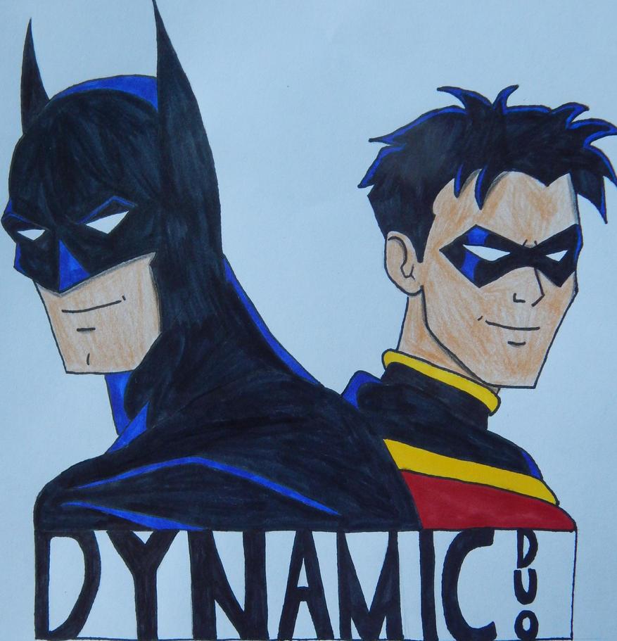Batman and Robin: The Dynamic Duo by ElvisPresleyFan3577