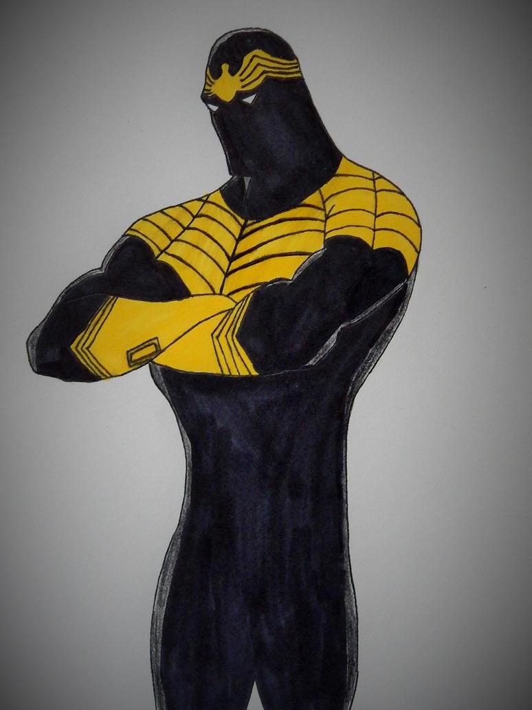 Black Spider (DC Comics) by ElvisPresleyFan3577