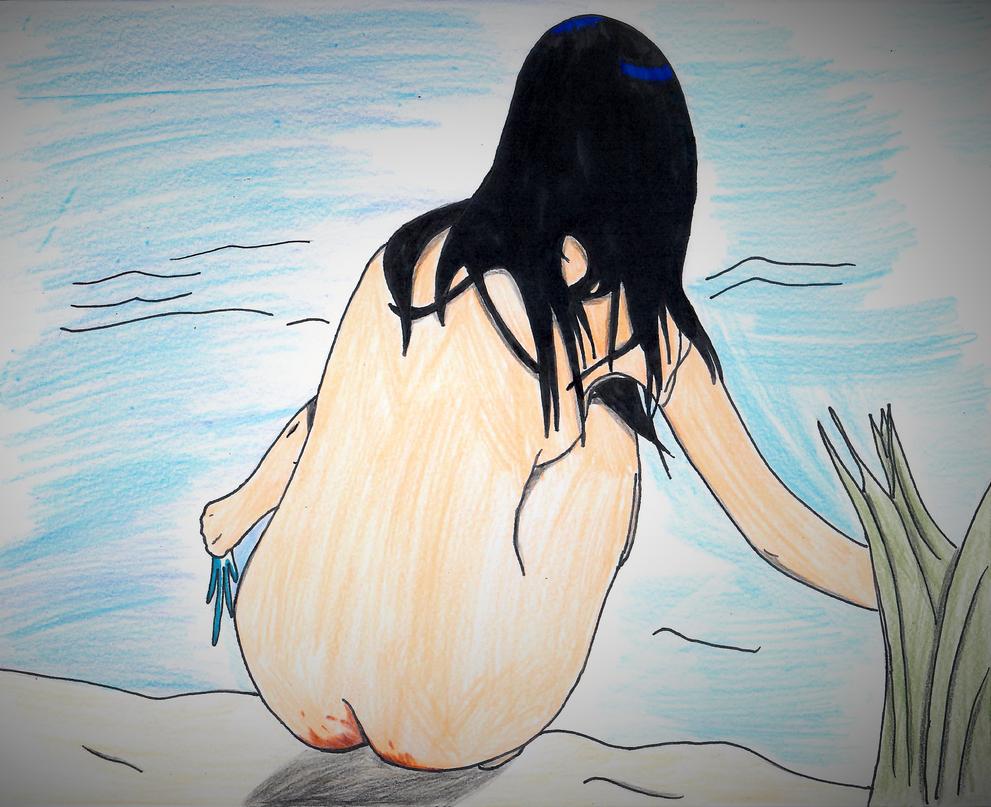 Girl at a Pond by ElvisPresleyFan3577