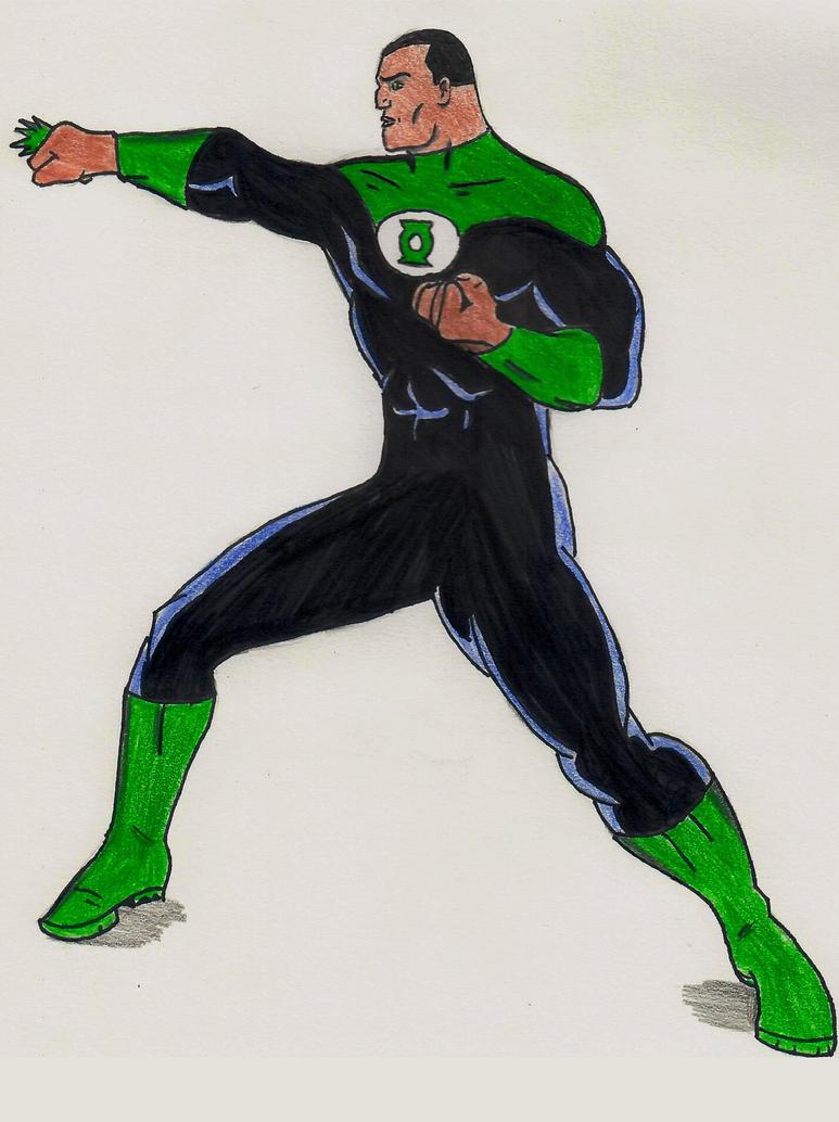 Green Lantern (John Stewart) by ElvisPresleyFan3577