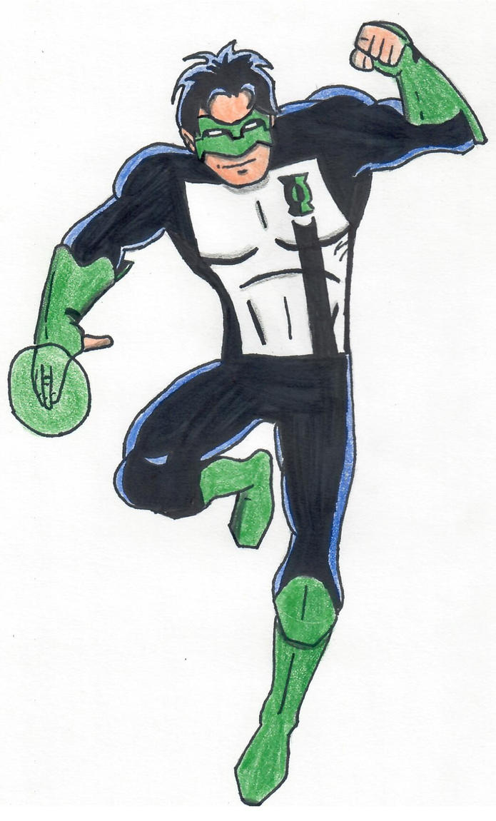 Green Lantern (Kyle Rayner) by ElvisPresleyFan3577