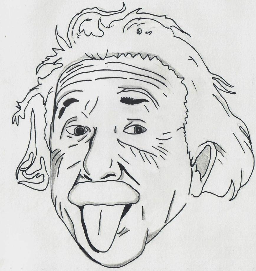 Albert Einstein by ElvisPresleyFan3577