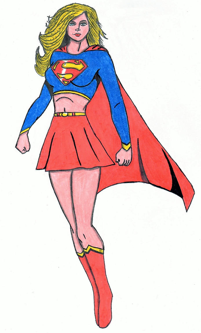 Supergirl by ElvisPresleyFan3577