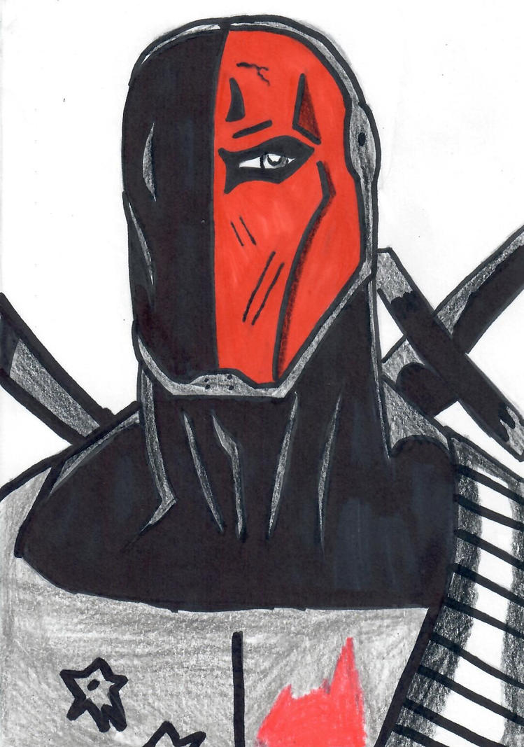 Deathstroke by ElvisPresleyFan3577