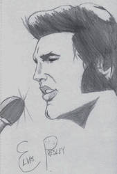 Elvis Presley sketch