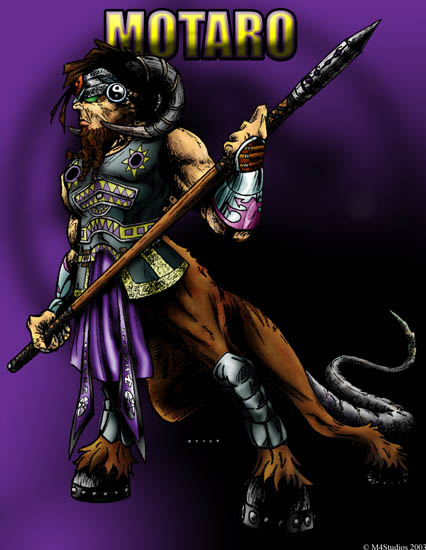Motaro from Mortal Kombat re-design by viridislament on ...