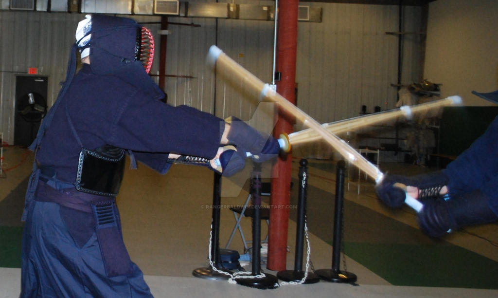 Kendo training, candid 2 by Rangerbaldwin