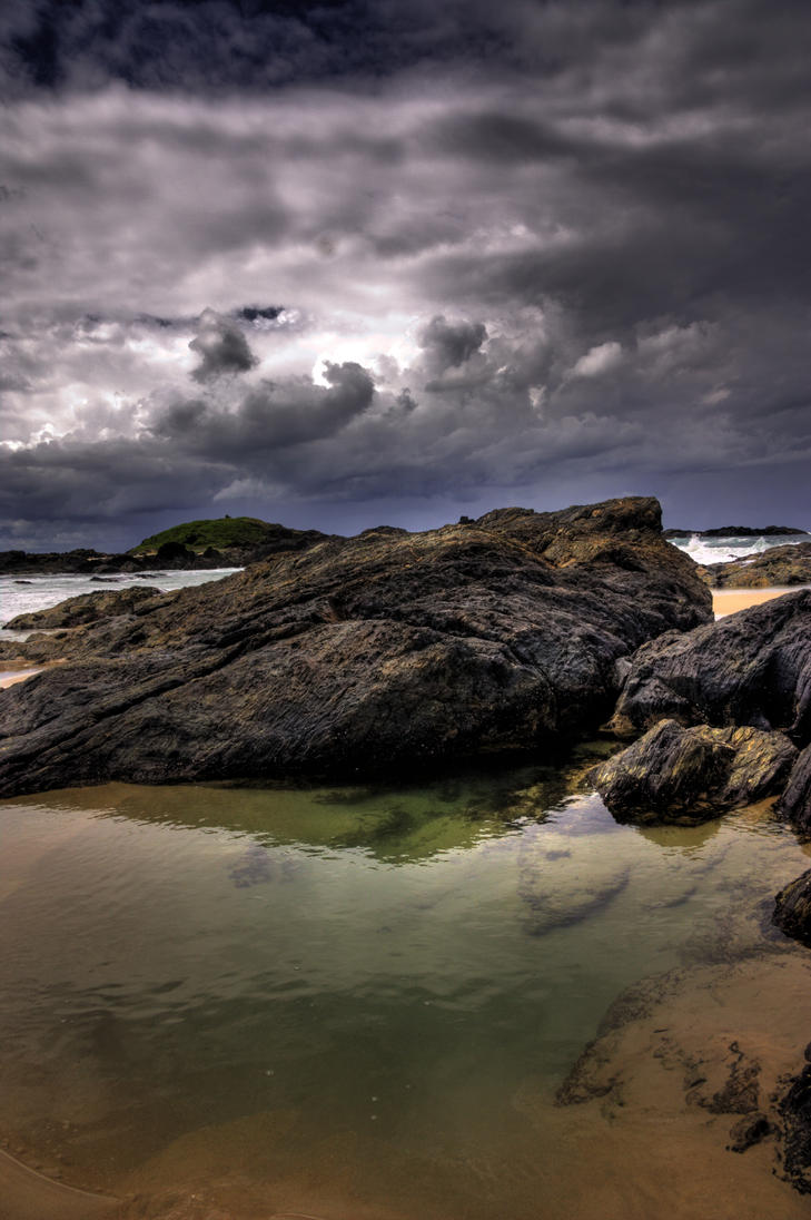 Sawtell bay HDR by dan2452