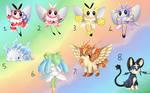 [Closed] Set Price Pokemon Fusions [0/8]