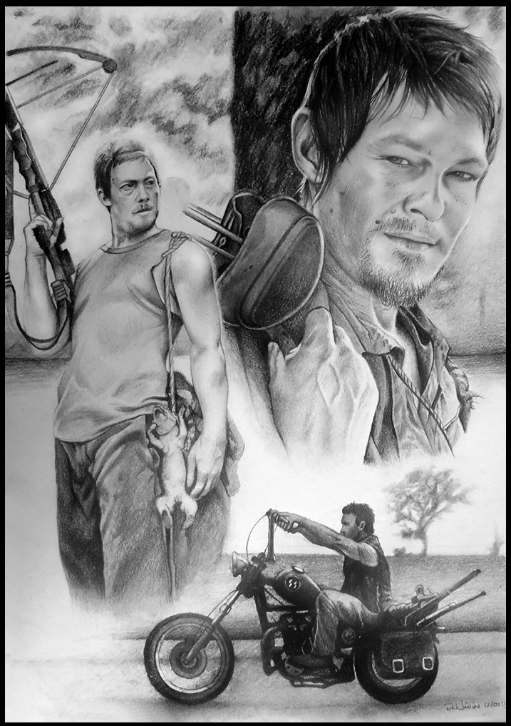 Daryl Dixon The Walking Dead By Noosborn On Deviantart