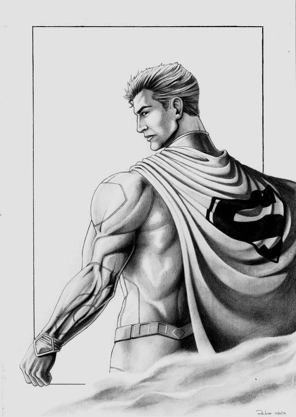 Superman - pencil by N...