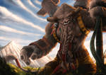 World of Warcraft Tribute Cairne Bloodhoof