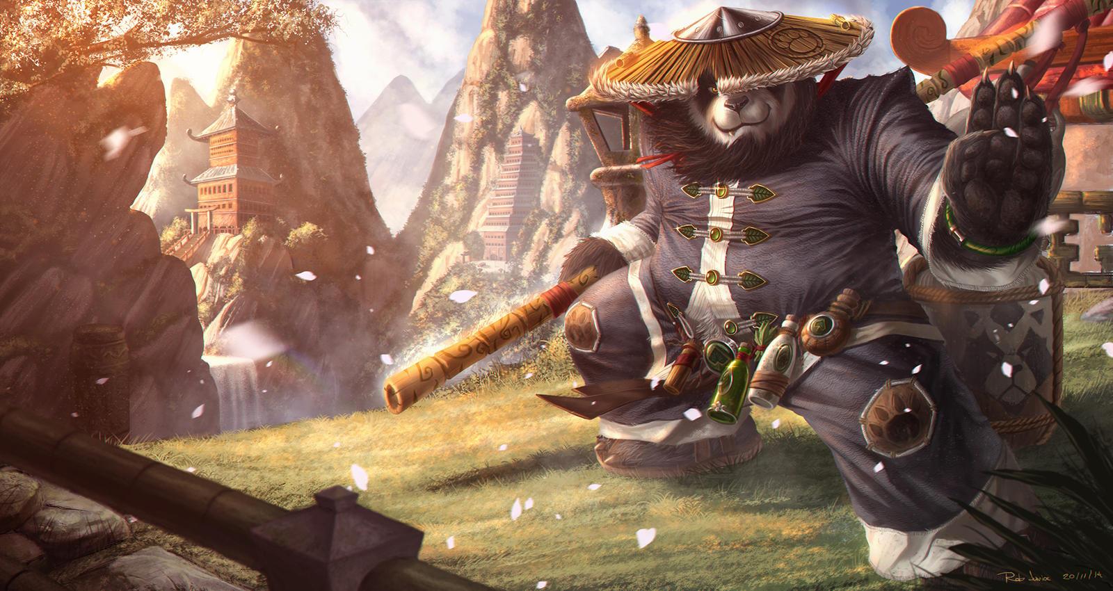 essayer world of warcraft mist of pandaria Cuarta expansión para world of warcraft que incluye una nueva raza, los pandarians, su región, una nueva clase de monje, mazmorras para el modo desafío.