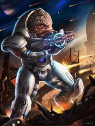 Mass Effect - Grunt by NOOSBORN