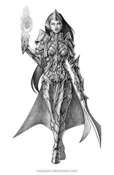 Concept Art Comission Sorcerer A