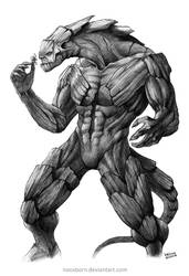 Concept Art Commission Monster A