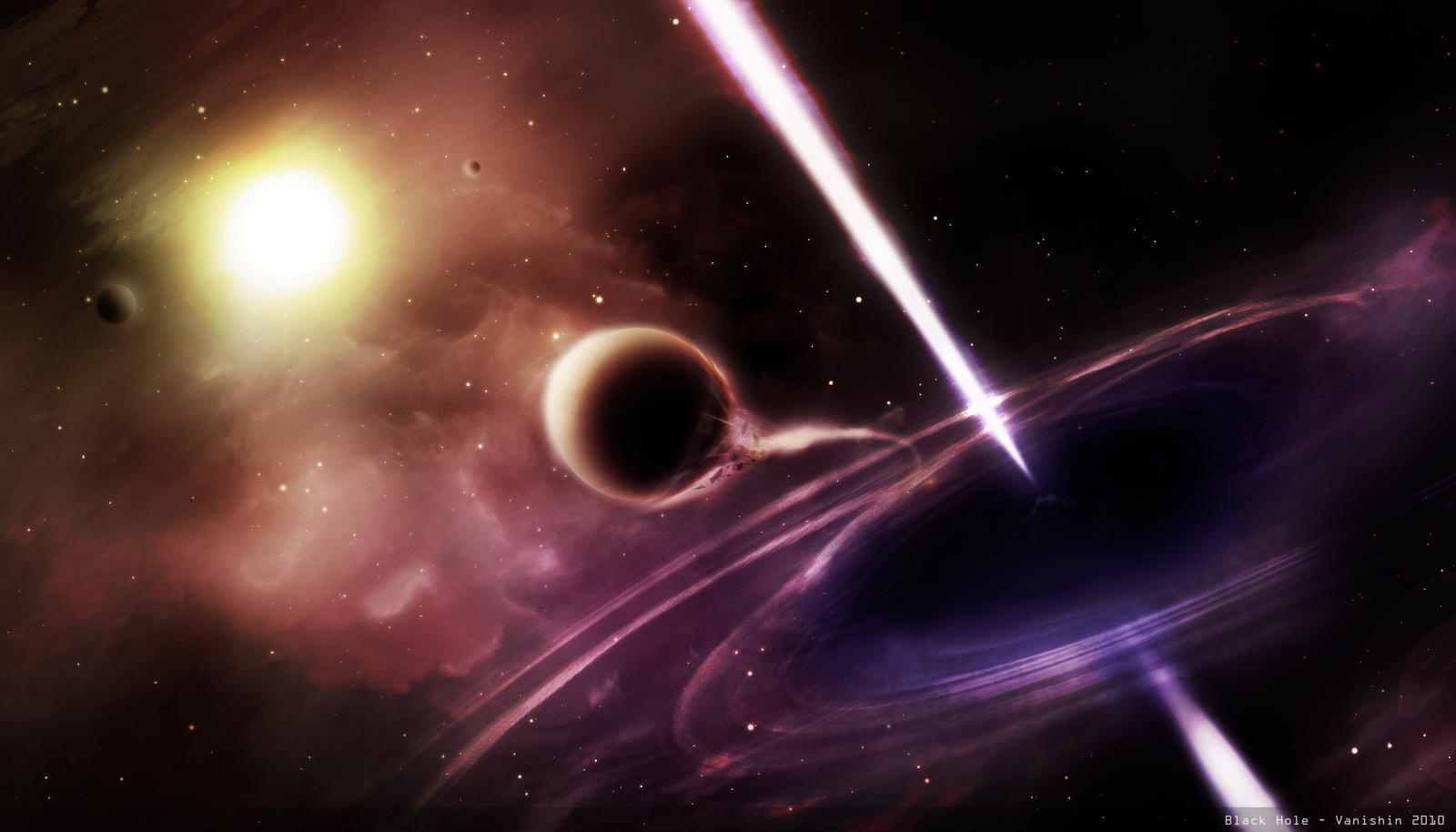 do black holes disappear - photo #8