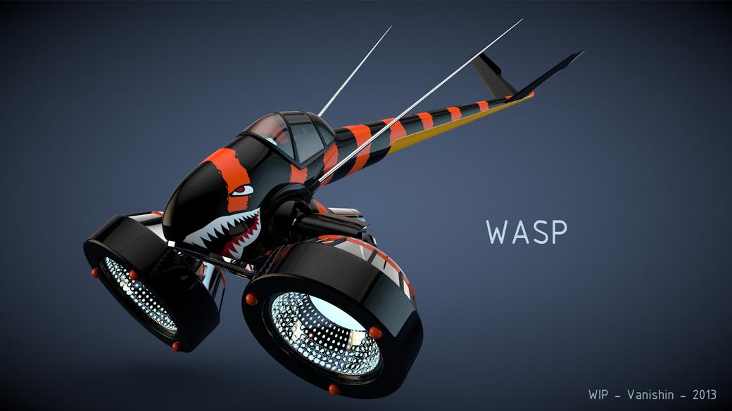 Wasp by Vanishin