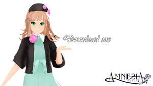 MMD DL: Amnesia - Heroine by LilithZatsune