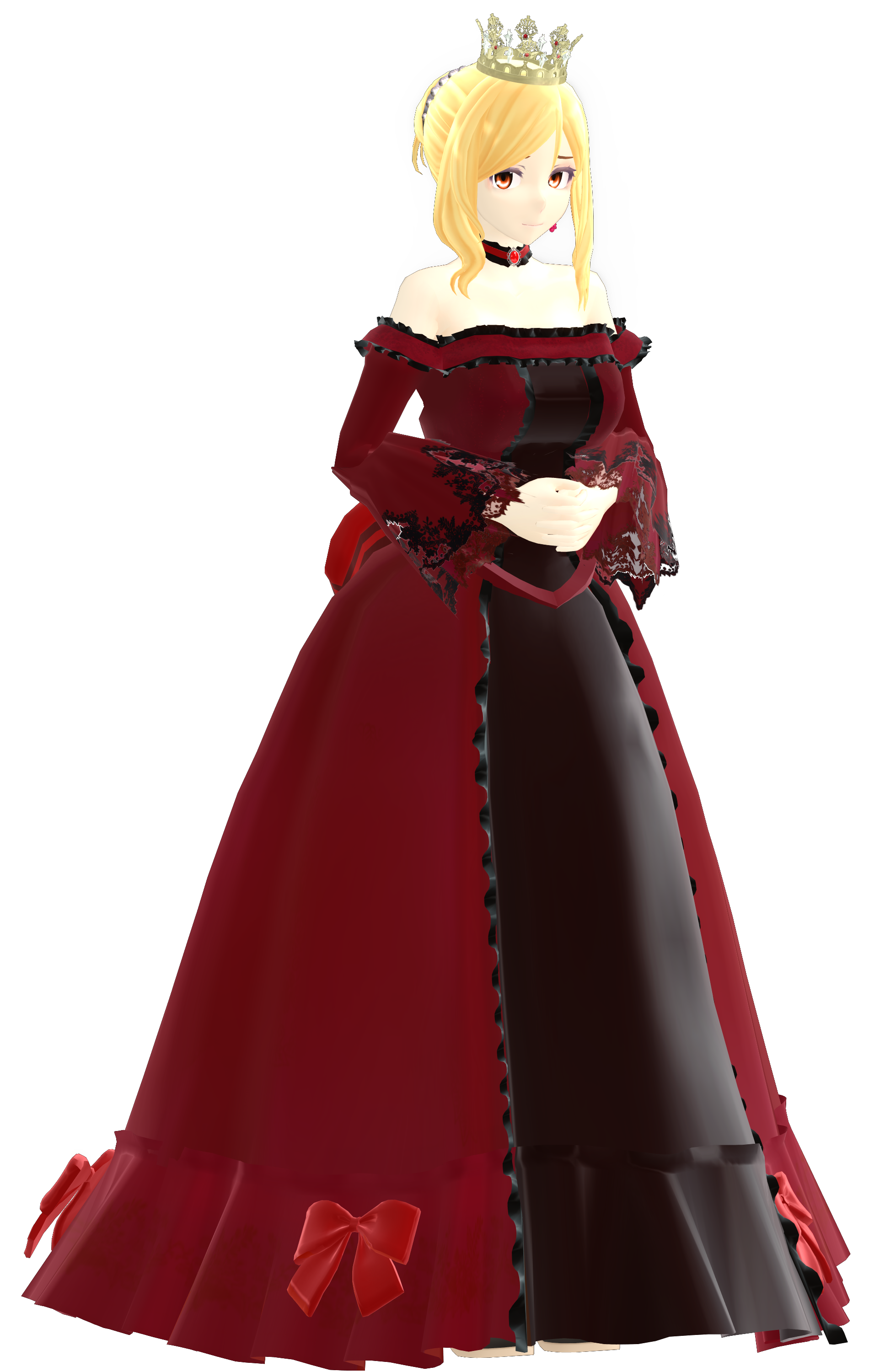 MMD Model: Sofia (Queen ver.) by LilithZatsune on DeviantArt