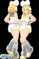 MMD DL: TDA Kagamine Rin V4x by LilithZatsune