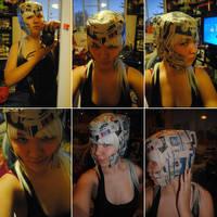 Loki Helmet Progress 2 by ConfessionsTetragram
