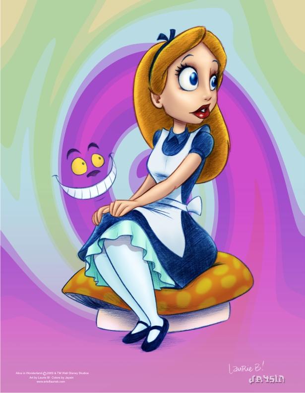 Alice in Wonderland Color by ArtofLaurieB