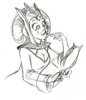 Queen Amidala Roughs