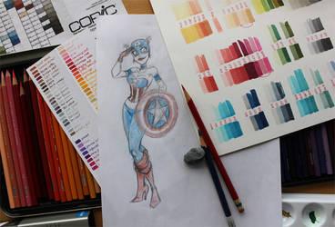 Captain America Study