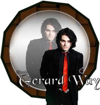Gerard Way Mirror by Neko-Chan36