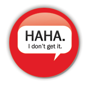 HAHA. Badge by Erakis