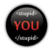 Stupid Badge by Erakis