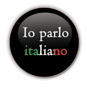 Io parlo italiano Badge by Erakis