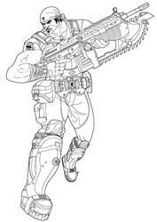 Marcus Fenix - Gears of War