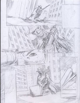 zokusho death knight pencil page 6