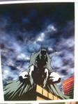 Batman unfinished color version