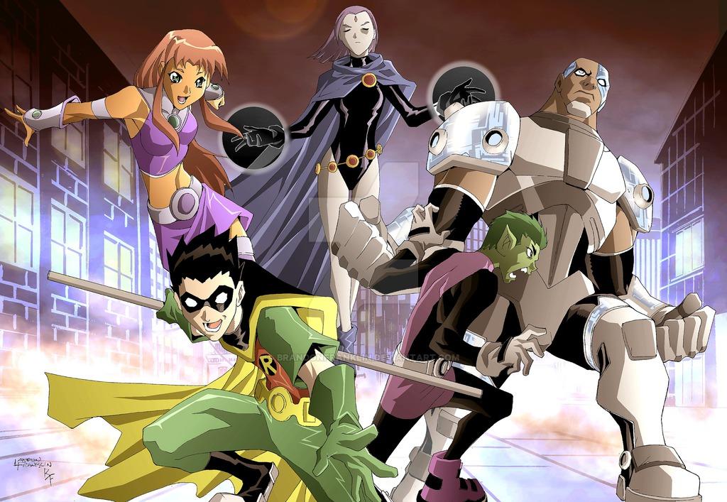 Teen Titans by LandonFranklin