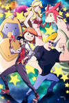 Space dandy and Johnny bravo