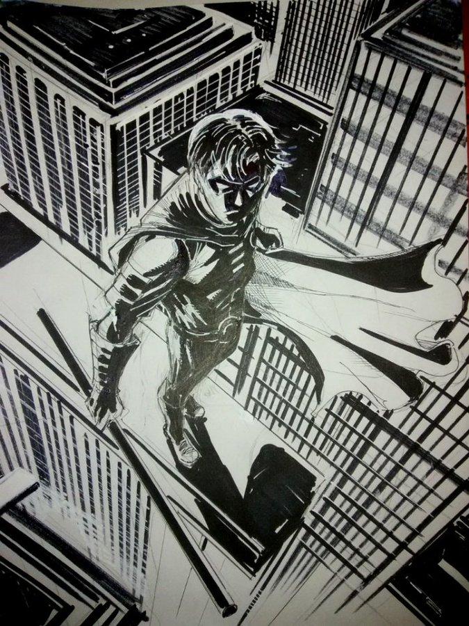 Tim Drake Robin by LandonFranklin