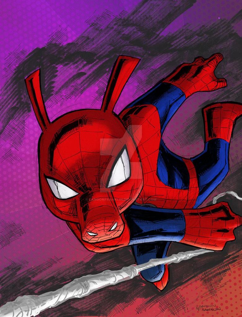 Spider-ham and Peter Porker by LandonFranklin